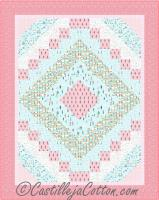 Cheerful Paris Quilt Pattern CJC-51041