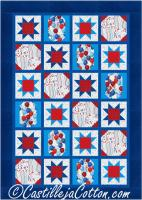 Celebrate USA Quilt Pattern CJC-5108