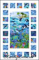 Sea Life Windows Quilt Pattern CJC-51151