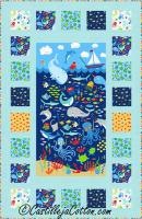 Sea Life Windows Quilt Pattern CJC-51152