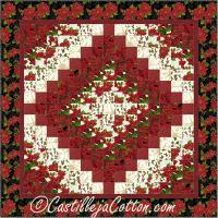 Christmas Eight FQ Trip Quilt Pattern CJC-51361