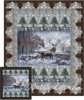 Mountain Stag Quilt Pattern CJC-5137