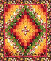 Double Bed Trip Quilt Pattern CJC-51542