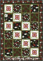 Flowers and Squares Quilt Pattern CJC-51551