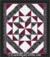 Double Star Pinwheel Quilt Pattern CJC-51591