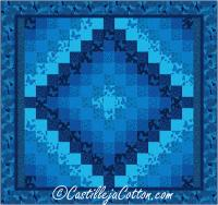 King Bed Trip Quilt Pattern CJC-51681