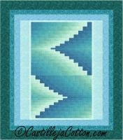 Double Darts Queen Quilt Pattern CJC-51731
