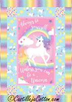 Unicorn Magic Quilt Pattern CJC-51851