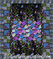 Cottage Flowers Panel Quilt Pattern CJC-52061