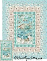 Sandy Beach Twin Quilt Pattern CJC-52210