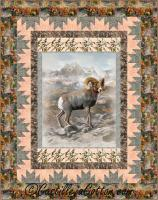Mountain Sheep Quilt Pattern CJC-52231