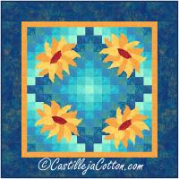 Skylite Sunflowers Wall Hanging Pattern CJC-52282