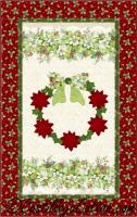 Christmas Flowers Quilt Pattern CJC-52391