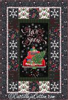 Christmas Snowflakes Quilt Pattern CJC-52431