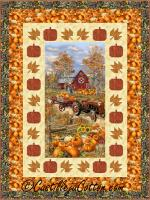 Pumpkin and Leaves Quilt Pattern CJC-52441