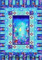 Fairies and Flowers Quilt Pattern CJC-52551