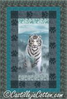 White Tiger Quilt Pattern CJC-52611