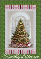 Christmas Tree and Presents Quilt Pattern CJC-52621
