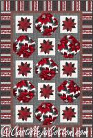 Poinsettia Song Quilt Pattern CJC-52641