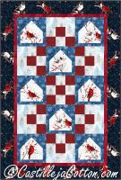 Cardinal Bird Feeders Quilt Pattern CJC-52661