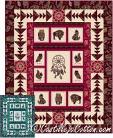 Spirit Animals Quilt Pattern CJC-52690