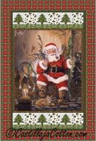 Santa Time to Go Quilt Pattern CJC-52751