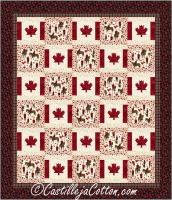 Double Canada is My Country Quilt Pattern CJC-52863