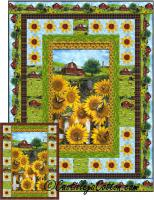 Country Sunflowers Quilt Pattern CJC-53020