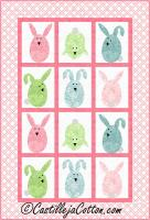 Playful Bunnies Quilt Pattern CJC-53071