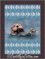 Otters and Fishes Quilt Pattern CJC-53341