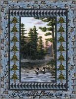 Tranquil Loons Quilt Pattern CJC-53501