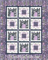 Castles and Stars Child Quilt Pattern CJC-53549
