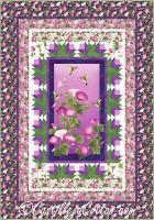Hummingbirds and Flowers Quilt Pattern CJC-53561