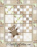 9-Patch Teddy Quilt Pattern CJC-53731