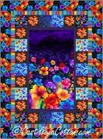 Night Blossoms Quilt Pattern CJC-53751