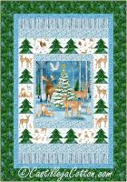 Christmas Deer Quilt Pattern CJC-53821
