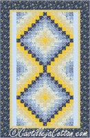 Twin Bed Two Trips Quilt Pattern CJC-53881