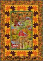 Autumn Barns Quilt Pattern CJC-53941