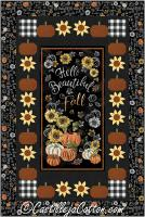Beautiful Fall Quilt Pattern CJC-53971
