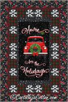 Holiday Truck Quilt Pattern CJC-53981