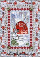 Cardinals and Barn Quilt Pattern CJC-53991