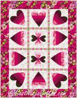 Dancing Hearts Quilt Pattern CJC-54012