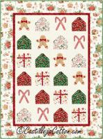 Christmas Candy Quilt Pattern CJC-54072