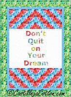 Live Your Dreams Quilt Pattern CJC-54131