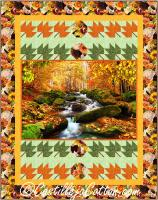 Autumn Stream Quilt Pattern CJC-54151