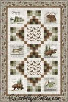 Lakeside Woods Lap Quilt Pattern CJC-54191