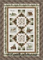 Lakeside Woods Twin Quilt Pattern CJC-54192