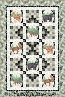 Frosted Animals Quilt Pattern CJC-54194