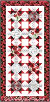 Paris and Poppies Runner Pattern CJC-54201