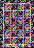 Confetti Balloons Quilt Pattern CJC-54481